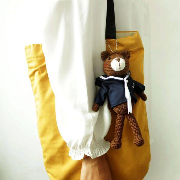 bernard the sailor on a bag
